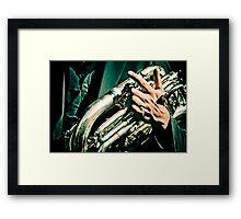 Hands of musicians - 1 Framed Print