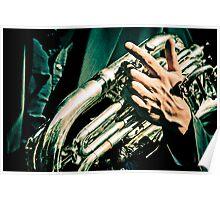 Hands of musicians - 1 Poster