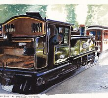 Puffing Billy at Emerald by Dai Wynn