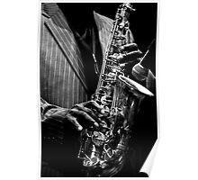 Hands of musicians - 4 Poster