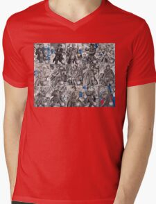 All the Doctors Mens V-Neck T-Shirt