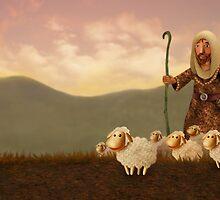 The Good Shepherd (morning) by Stijn Van Elst