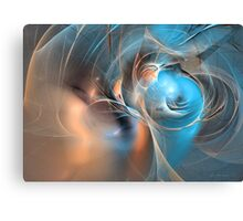 Blue baron Canvas Print