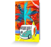 PalmTrees Gumleaves and Combi 3 Greeting Card