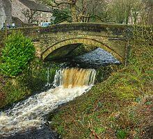 The Road Bridge At Clapham by Jamie  Green