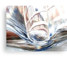 Distorted view of life Canvas Print