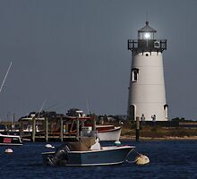 Edgartown Lighthouse by AnnDixon