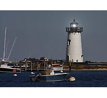 Edgartown Lighthouse Photographic Print