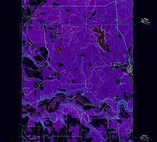 USGS Topo Map Washington State WA Black Diamond 240072 1949 24000 Inverted by wetdryvac