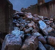 A pile of rocks by Samuel Glassar