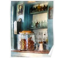 Big Jar of Pretzels Poster