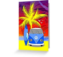 PalmTrees Gumleaves and Combi 5 Greeting Card