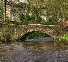 The Footbridge Over Clapham Beck by Jamie  Green