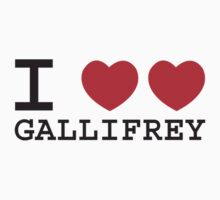 I Heart Heart Gallifrey by dangerbird