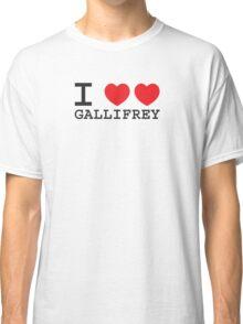 I Heart Heart Gallifrey Classic T-Shirt