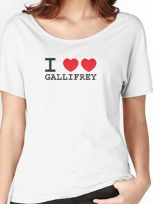 I Heart Heart Gallifrey Women's Relaxed Fit T-Shirt