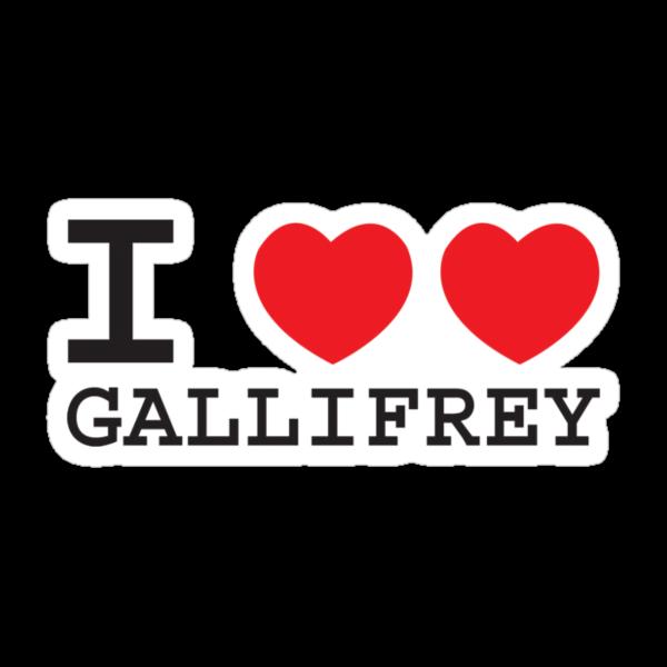 I Heart Heart Gallifrey by dangerbird
