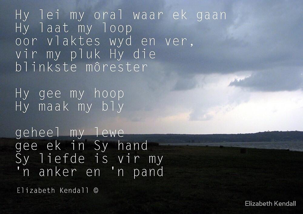 He leadeth me / Hy lei my by Elizabeth Kendall
