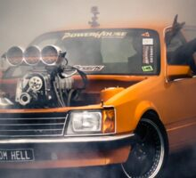 FROMHELL Burnout Sticker