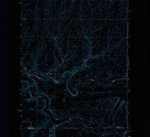 USGS Topo Map Washington State WA Harrington SE 241486 1969 24000 Inverted by wetdryvac