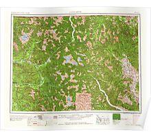 USGS Topo Map Washington State WA Concrete 240633 1958 250000 Poster