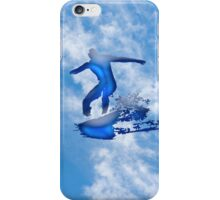 Flying Surfer iPhone Case/Skin