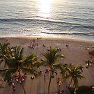 Beach and Malecón in the late Afternoon Sun - Playa y Malecón en el Sol de laTarde by PtoVallartaMex