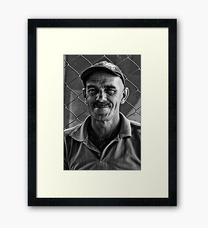 Station Master  Framed Print