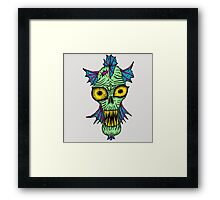 Monster Mondays #1 - Launched on halloween Framed Print