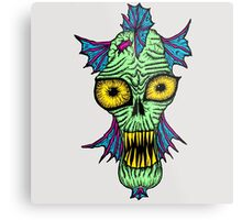 Monster Mondays #1 - Launched on halloween Metal Print