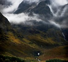Blaven and malevolent weather. Isle of Skye, Scotland. by photosecosse /barbara jones