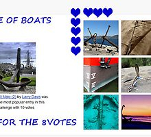 """BANNER TOP TEN """" A LOVE OF BOATS GROUP"""" by Guendalyn"""