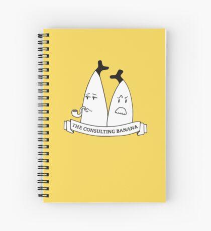 SHERLOCK - The Consulting Banana Spiral Notebook