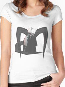 Kaneki Ken - Eye patch Ghoul  Women's Fitted Scoop T-Shirt