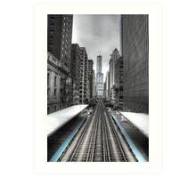 Trumped Tracks. Art Print