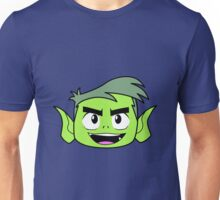 Beastboy´s face Unisex T-Shirt