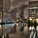 Chicago River. by sanzphotos