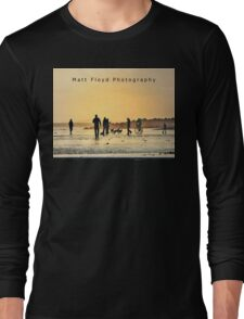 Low Tide Sunset - Hove #15  Long Sleeve T-Shirt