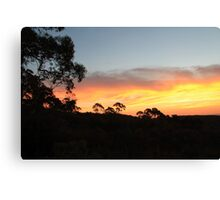 Mount Canobolas Sunset Canvas Print