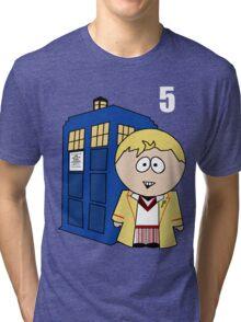 5th Doctor Tri-blend T-Shirt