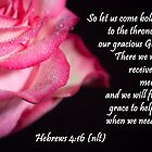 Hebrews 4:16 by Deborah McLain