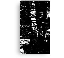 Ethereal Black Metal Canvas Print