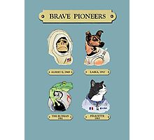 Brave Pioneers Photographic Print