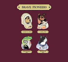 Brave Pioneers Womens Fitted T-Shirt