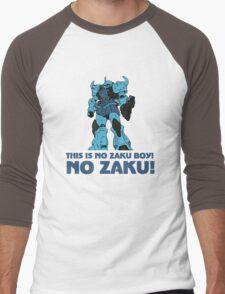 NO ZAKU! Men's Baseball ¾ T-Shirt