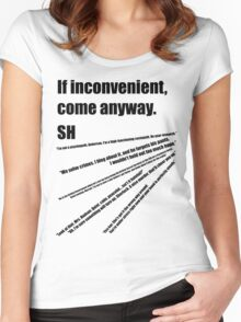 221b(2) Women's Fitted Scoop T-Shirt