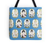 SHERLOCK - Tea Time for Sherlock - Trio Tote Bag