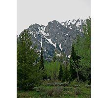 Teton Mountain Scene 2011 Photographic Print