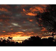 Dark Sunrise 2 Photographic Print