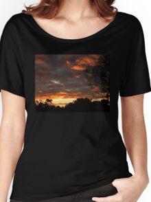 Dark Sunrise 2 Women's Relaxed Fit T-Shirt